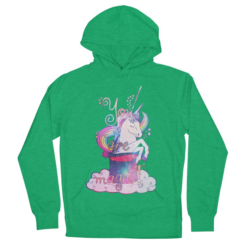 You Are Magic! Women's French Terry Pullover Hoody by Haciendo Designs's Artist Shop