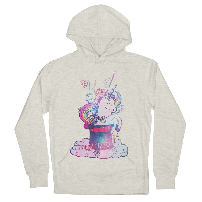 You Are Magic! Men's French Terry Pullover Hoody by Haciendo Designs's Artist Shop