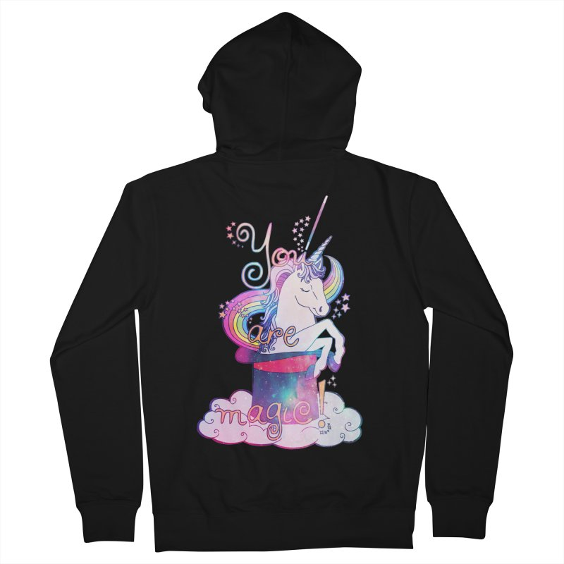 You Are Magic! Women's French Terry Zip-Up Hoody by Haciendo Designs's Artist Shop