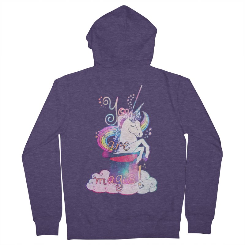 You Are Magic! Men's Zip-Up Hoody by Haciendo Designs's Artist Shop