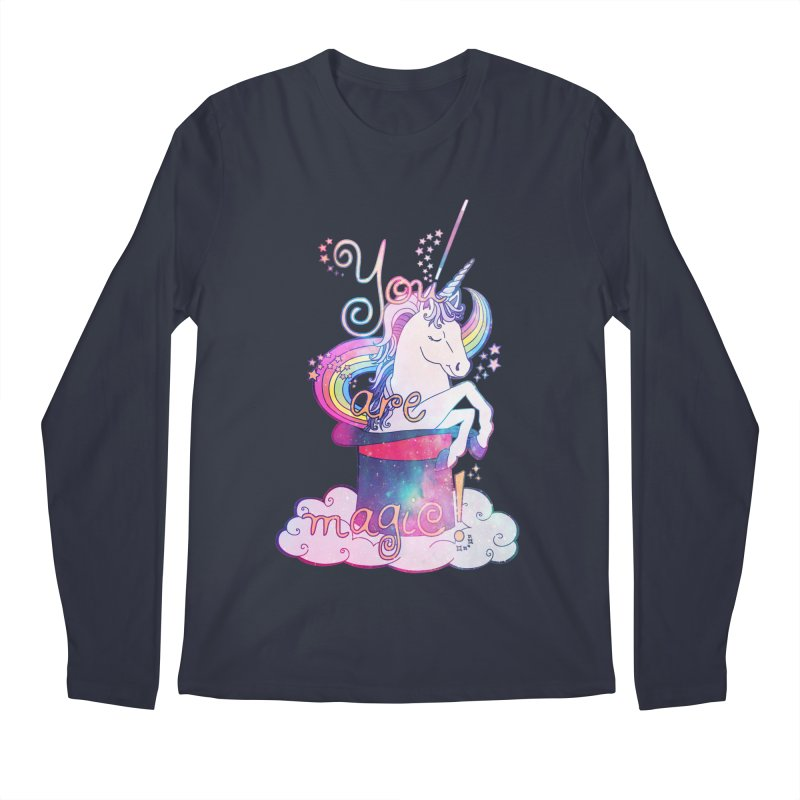 You Are Magic! Men's Regular Longsleeve T-Shirt by Haciendo Designs's Artist Shop