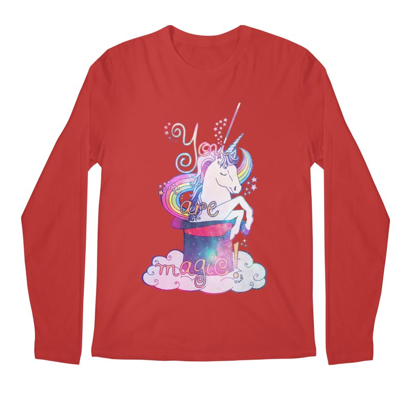 You Are Magic! Men's Regular Longsleeve T-Shirt by Haciendo Designs's Artist Shop