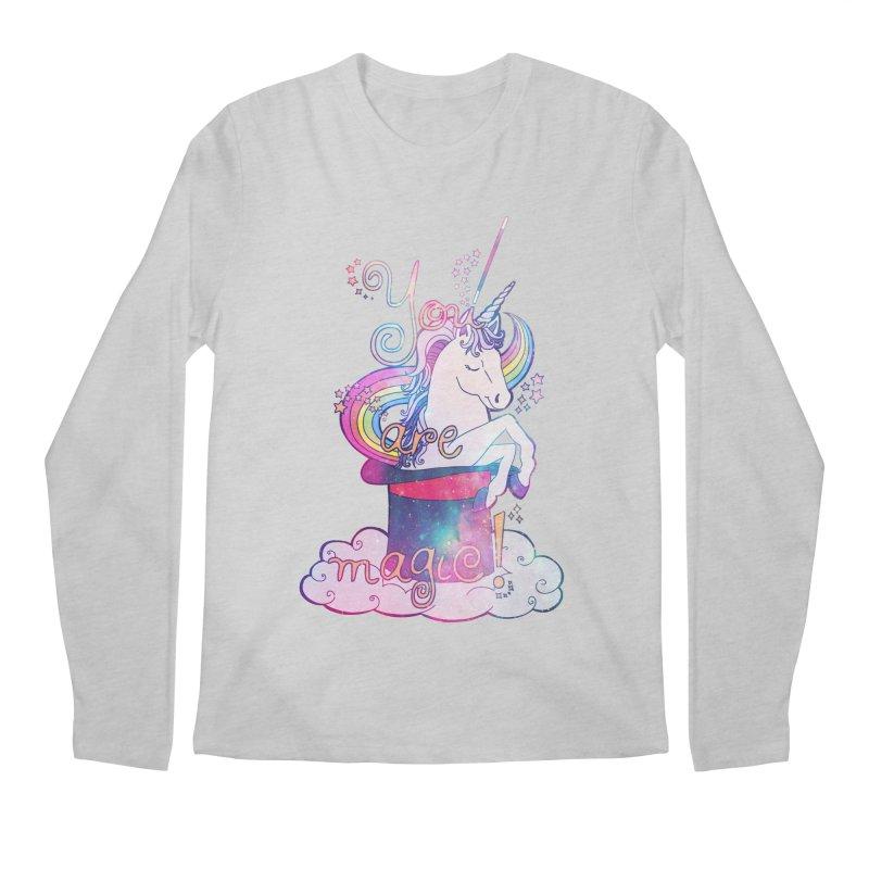 You Are Magic! Men's Longsleeve T-Shirt by Haciendo Designs's Artist Shop