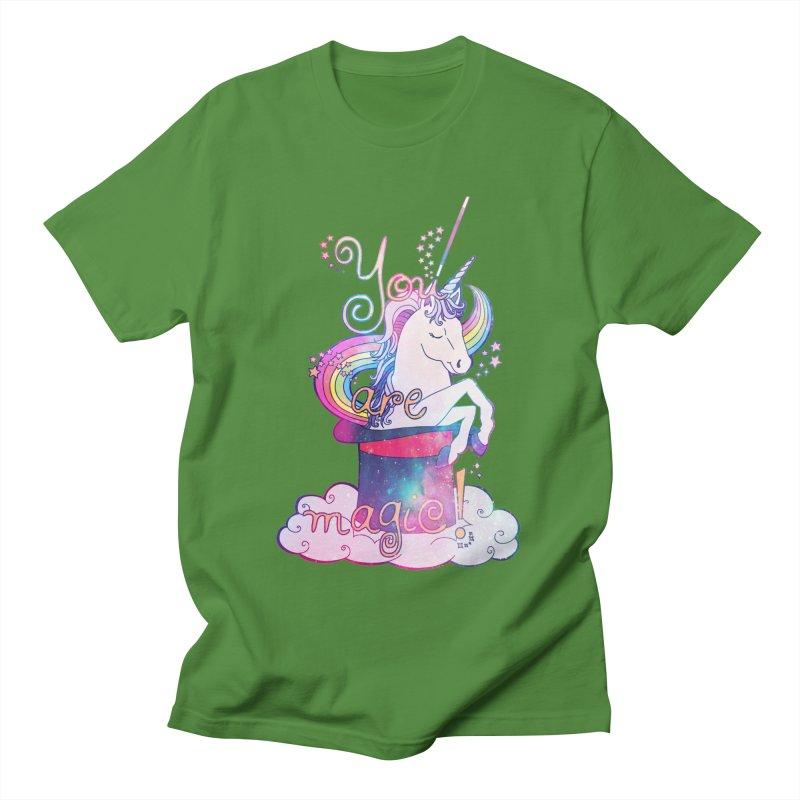 You Are Magic! Men's Regular T-Shirt by Haciendo Designs's Artist Shop