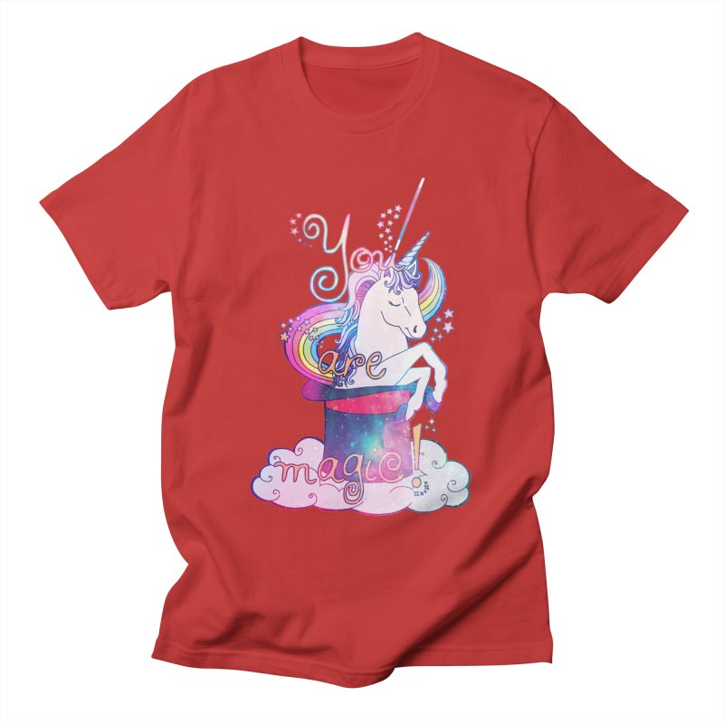 You Are Magic! Women's Unisex T-Shirt by Haciendo Designs's Artist Shop