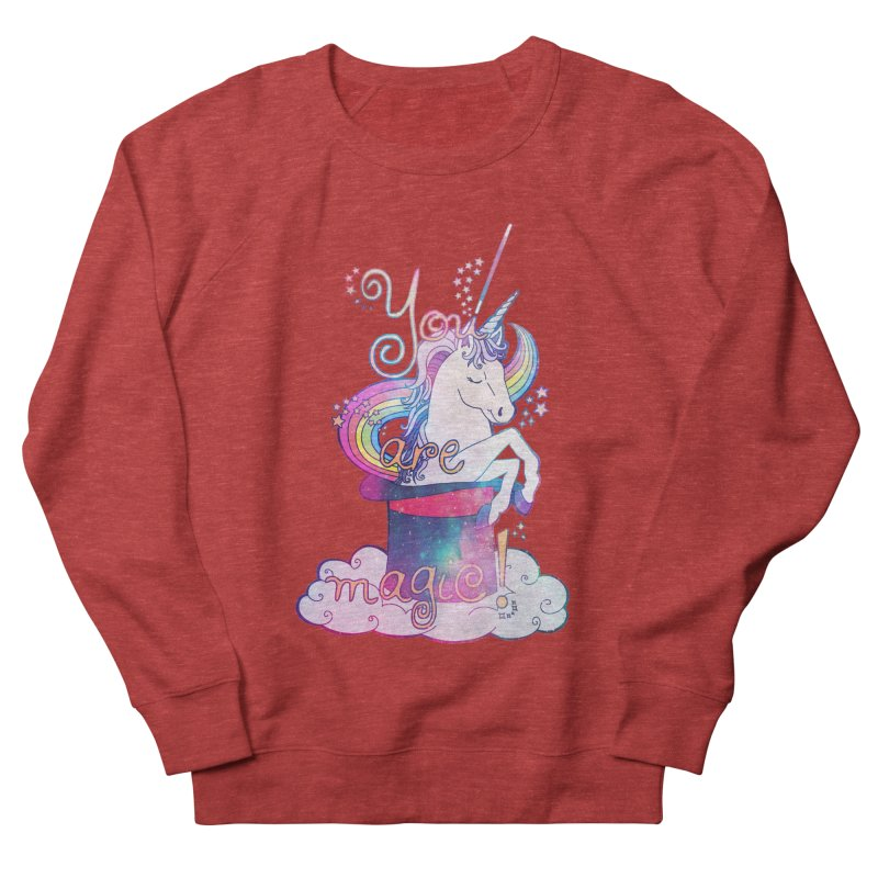 You Are Magic! Women's French Terry Sweatshirt by Haciendo Designs's Artist Shop