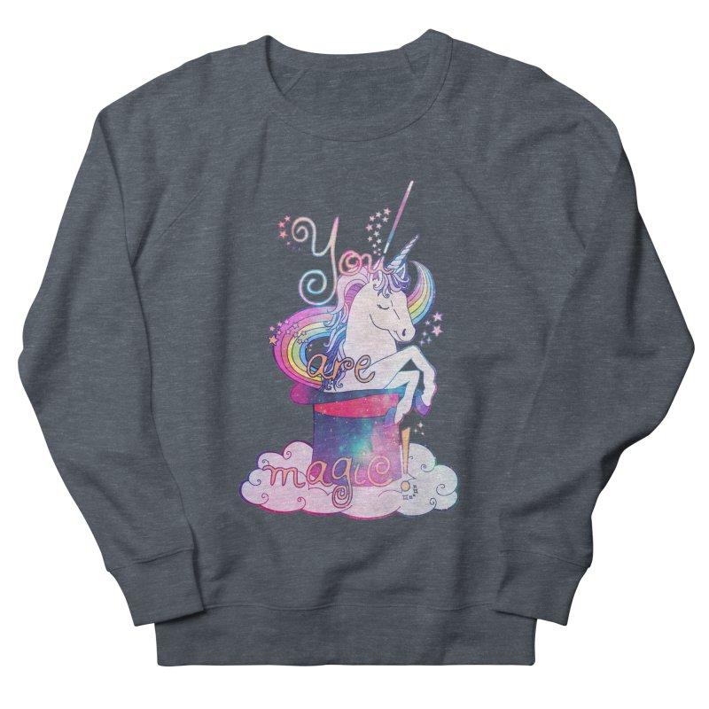 You Are Magic! Men's Sweatshirt by Haciendo Designs's Artist Shop