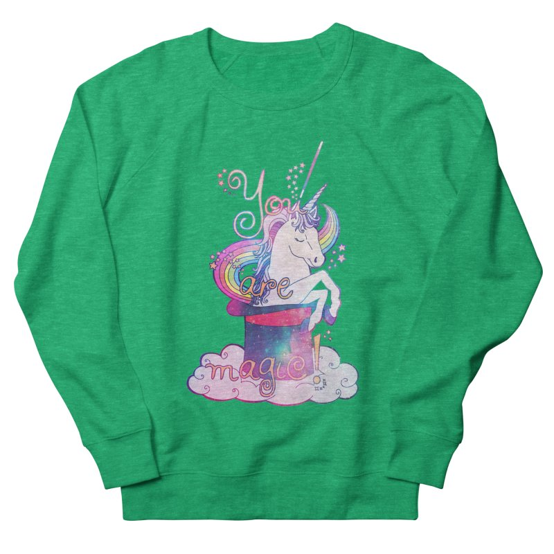 You Are Magic! Men's French Terry Sweatshirt by Haciendo Designs's Artist Shop
