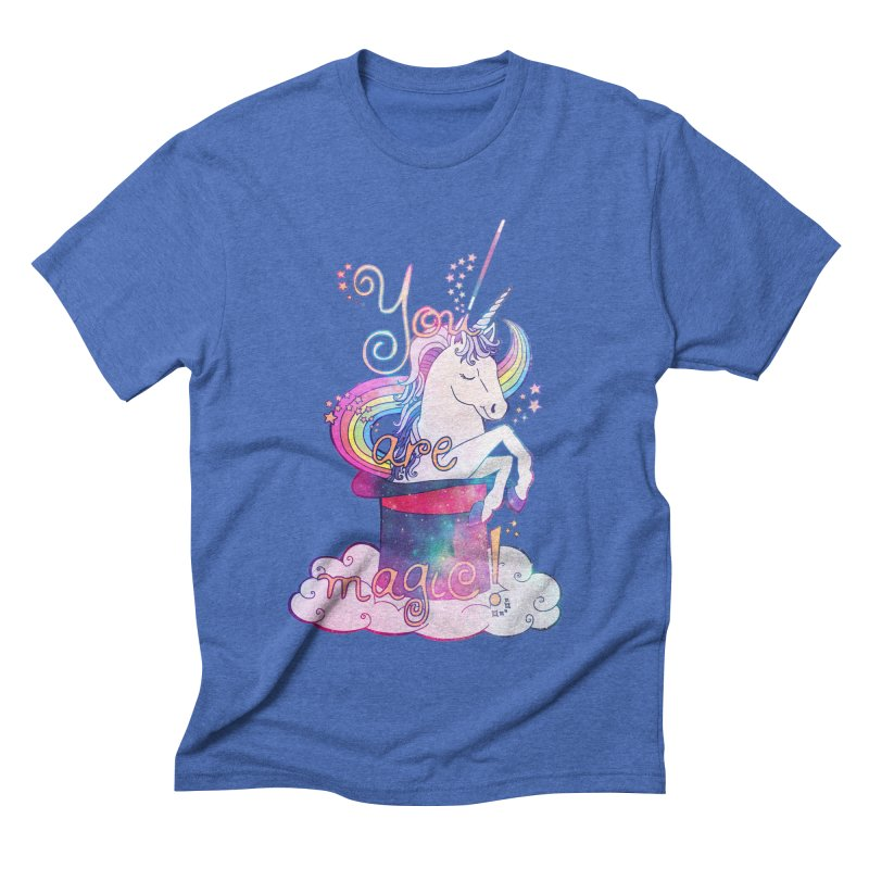You Are Magic! Men's Triblend T-Shirt by Haciendo Designs's Artist Shop