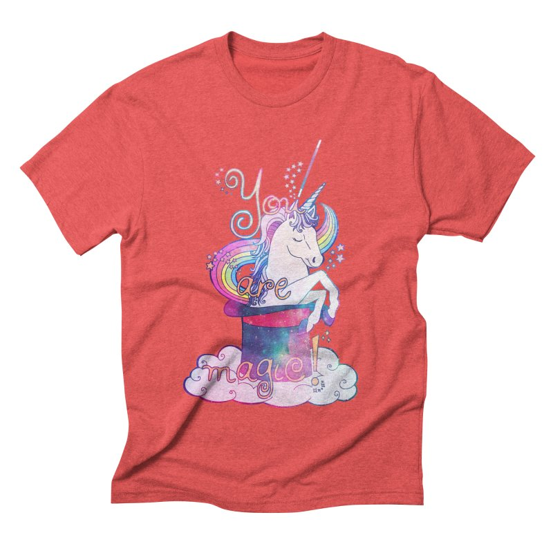 You Are Magic! Men's Triblend T-Shirt by Haciendo Designs's Artist Shop