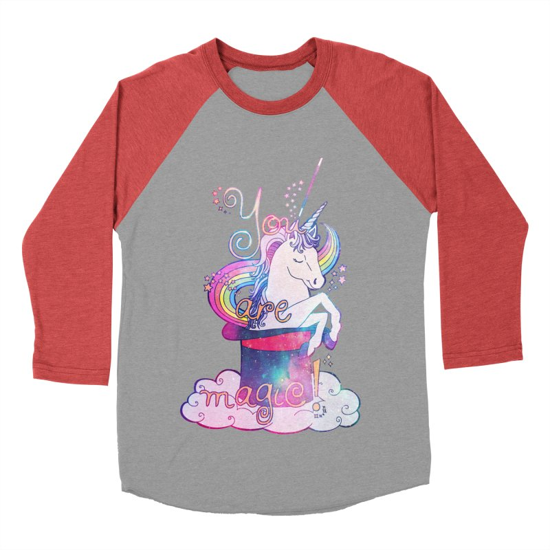 You Are Magic! Women's Baseball Triblend Longsleeve T-Shirt by Haciendo Designs's Artist Shop
