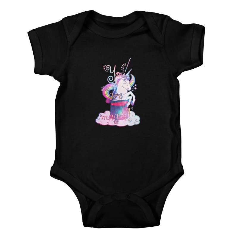 You Are Magic! Kids Baby Bodysuit by Haciendo Designs's Artist Shop