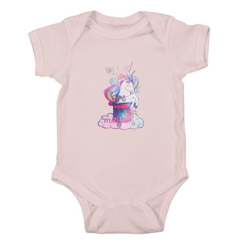 You Are Magic! Kids Baby Bodysuit by Haciendo Designs's Artist Shop