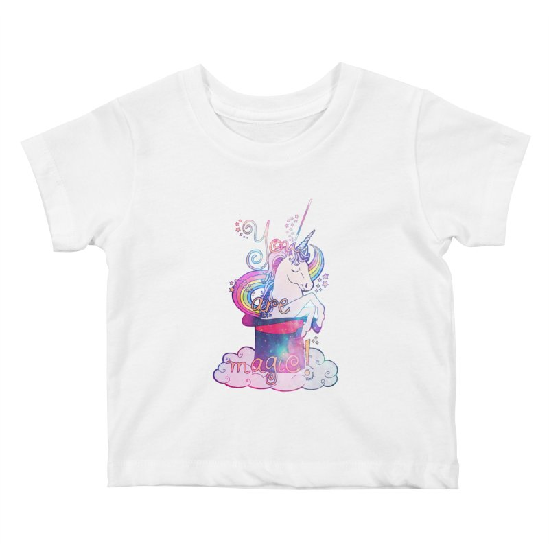 You Are Magic! Kids Baby T-Shirt by Haciendo Designs's Artist Shop