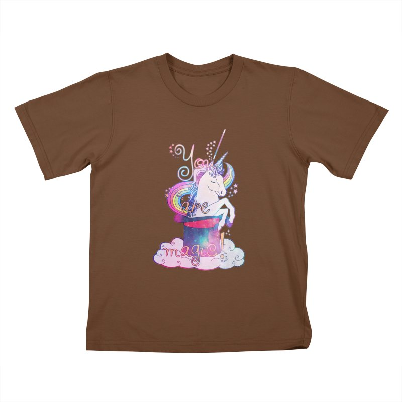 You Are Magic! Kids T-Shirt by Haciendo Designs's Artist Shop
