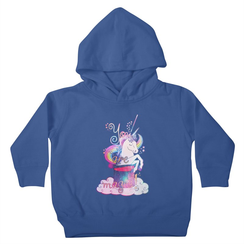 You Are Magic! Kids Toddler Pullover Hoody by Haciendo Designs's Artist Shop