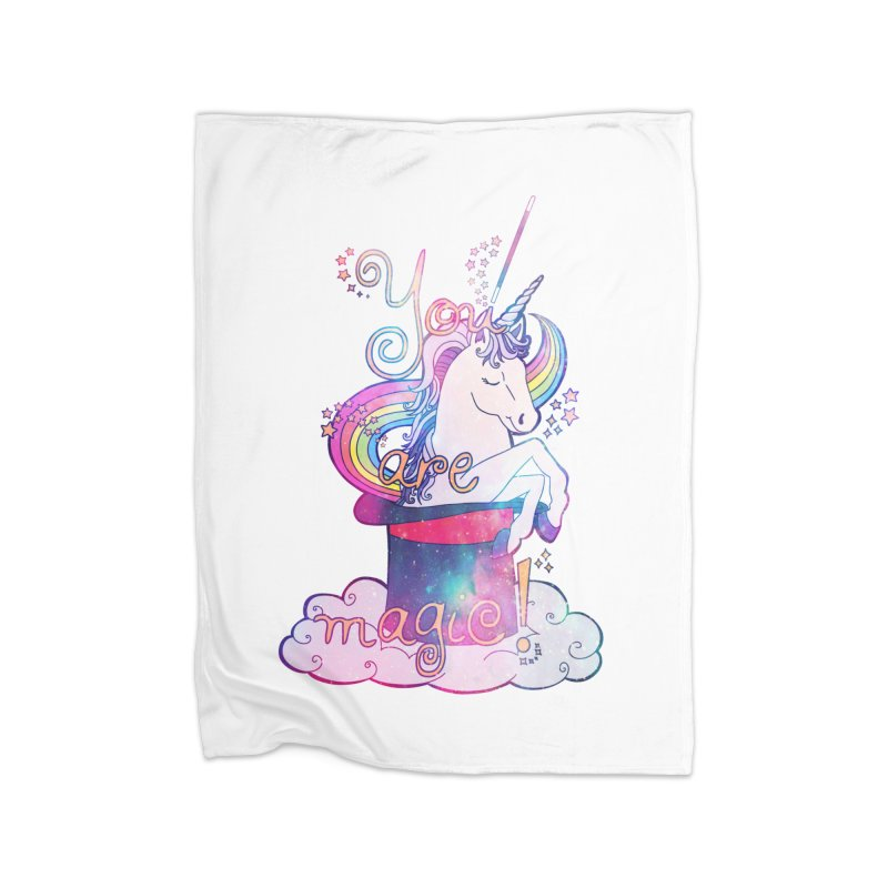 You Are Magic! Home Blanket by Haciendo Designs's Artist Shop