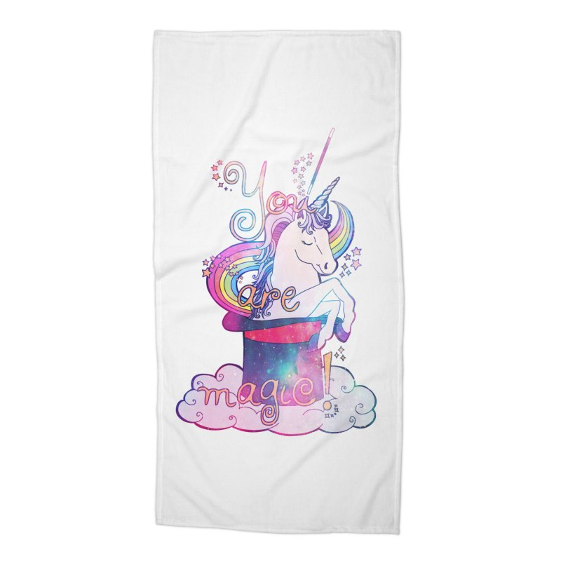You Are Magic! Accessories Beach Towel by Haciendo Designs's Artist Shop