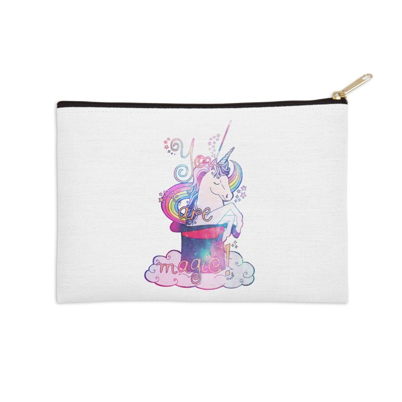 You Are Magic! Accessories Zip Pouch by Haciendo Designs's Artist Shop