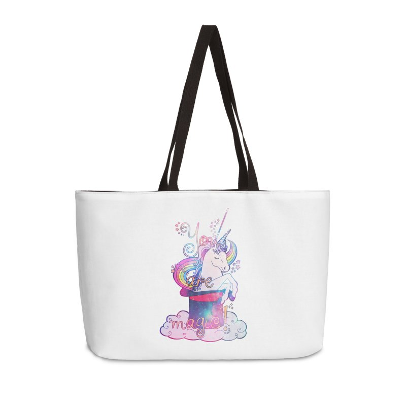 You Are Magic! Accessories Weekender Bag Bag by Haciendo Designs's Artist Shop