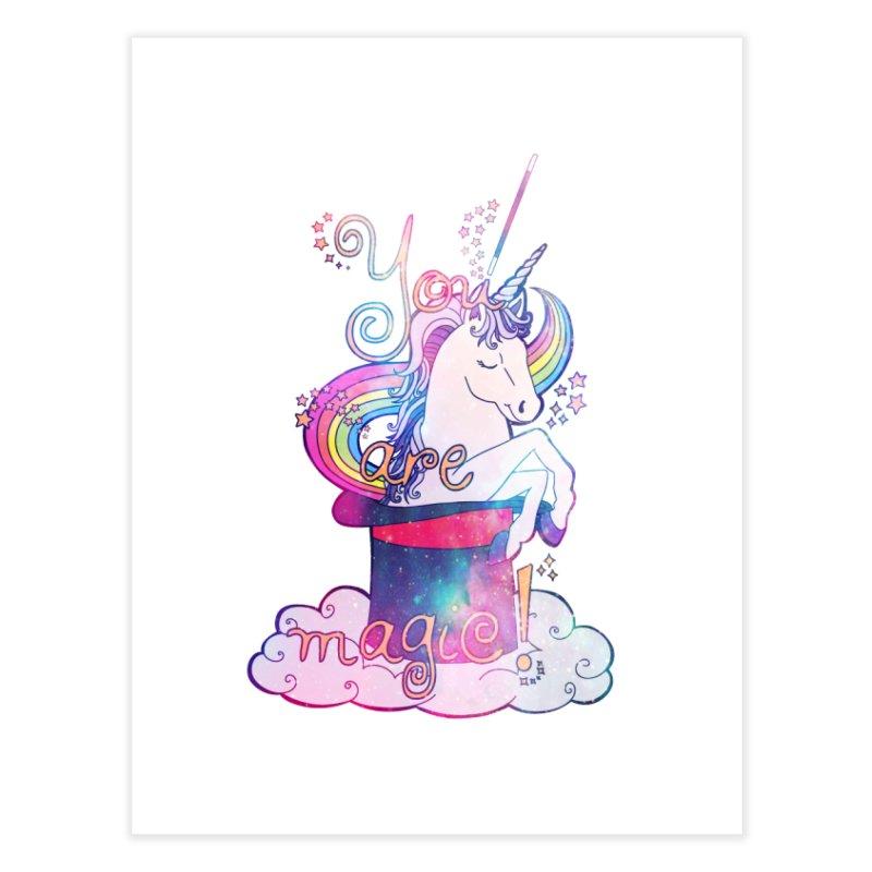 You Are Magic! Home Fine Art Print by Haciendo Designs's Artist Shop