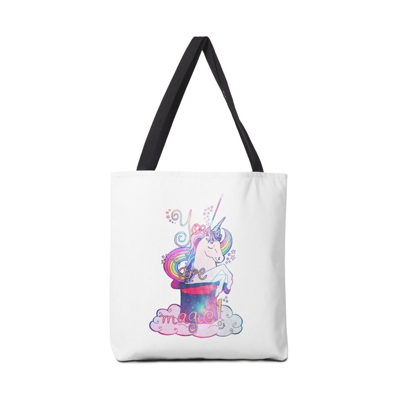 You Are Magic! Accessories Bag by Haciendo Designs's Artist Shop