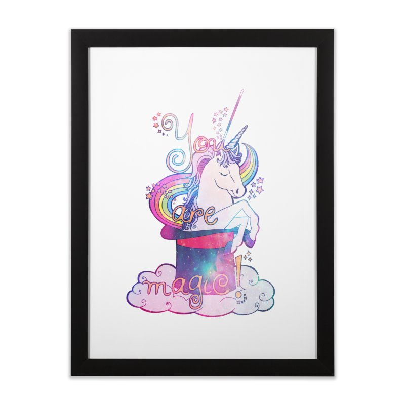You Are Magic! Home Framed Fine Art Print by Haciendo Designs's Artist Shop