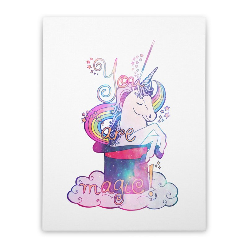 You Are Magic! Home Stretched Canvas by Haciendo Designs's Artist Shop