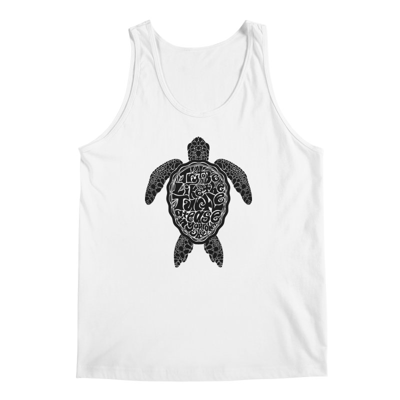 Try To Be Like The Turtle Men's Regular Tank by Haciendo Designs's Artist Shop