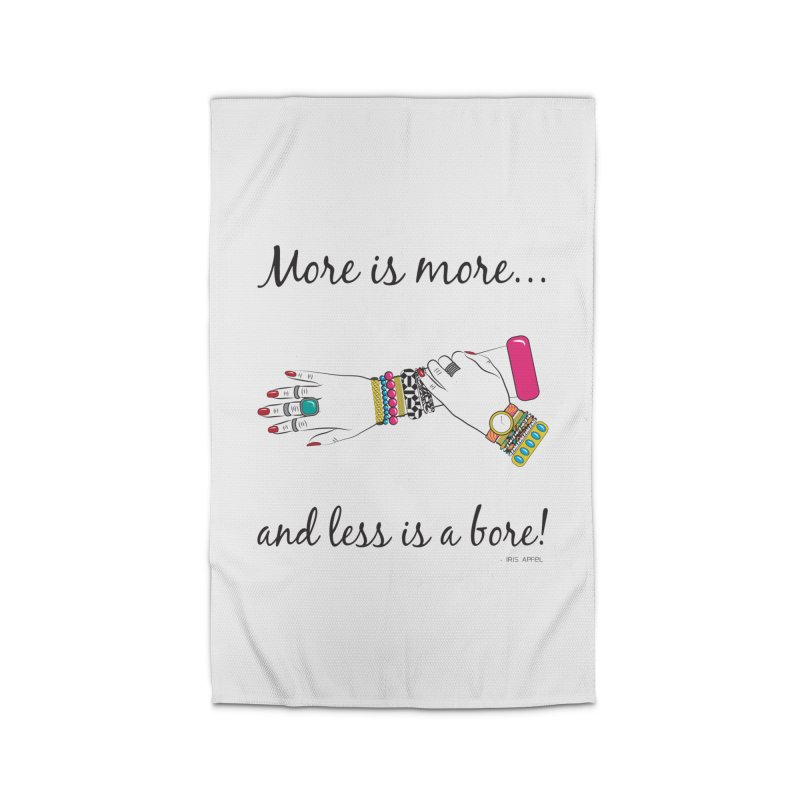 More is More and Less is a Bore Home Rug by Haciendo Designs's Artist Shop