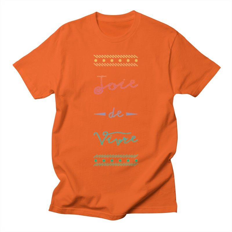Joie de Vivre Men's Regular T-Shirt by Haciendo Designs's Artist Shop