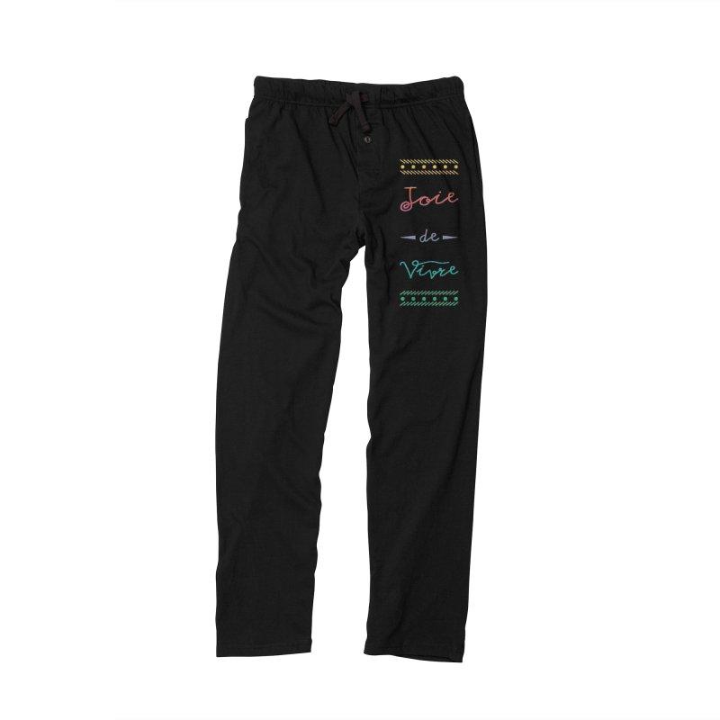 Joie de Vivre Men's Lounge Pants by Haciendo Designs's Artist Shop
