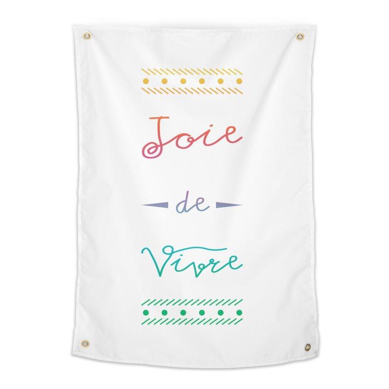 Joie de Vivre Home Tapestry by Haciendo Designs's Artist Shop