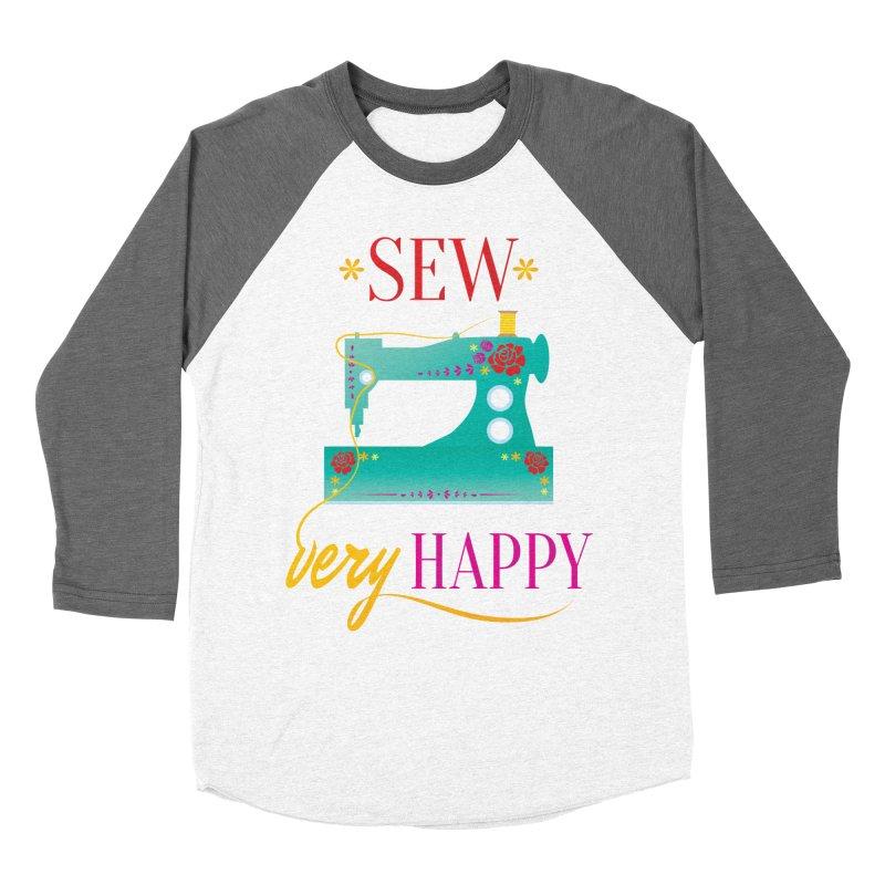 Sew Very Happy Women's Longsleeve T-Shirt by Haciendo Designs's Artist Shop