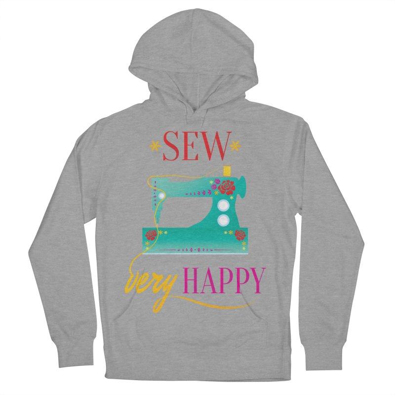 Sew Very Happy Men's Pullover Hoody by Haciendo Designs's Artist Shop