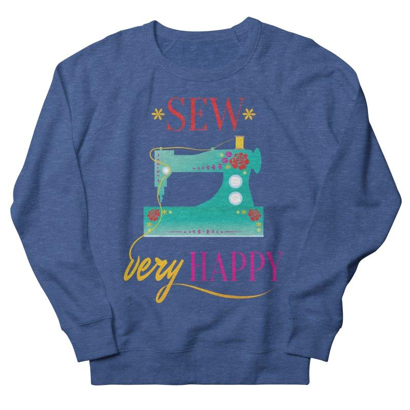 Sew Very Happy Men's Sweatshirt by Haciendo Designs's Artist Shop