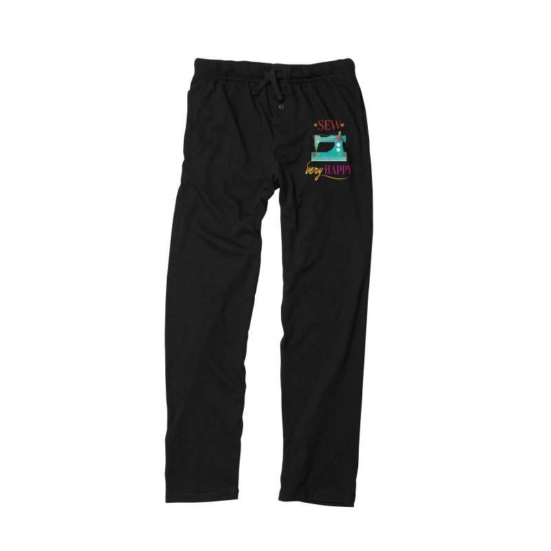 Sew Very Happy Men's Lounge Pants by Haciendo Designs's Artist Shop