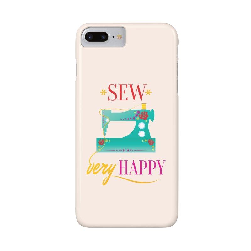 Sew Very Happy Accessories Phone Case by Haciendo Designs's Artist Shop