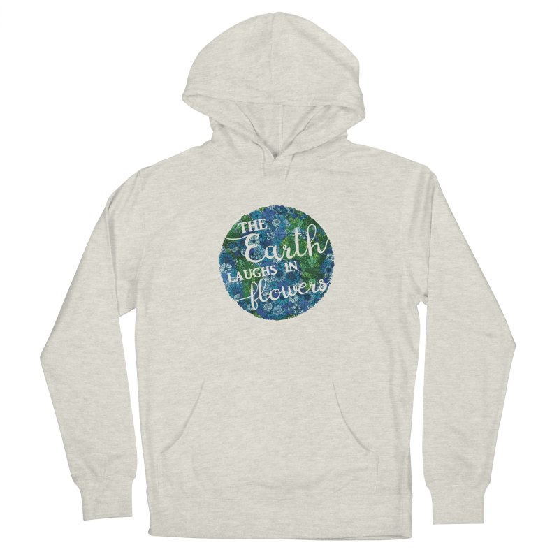 The Earth Laughs in Flowers Men's French Terry Pullover Hoody by Haciendo Designs's Artist Shop
