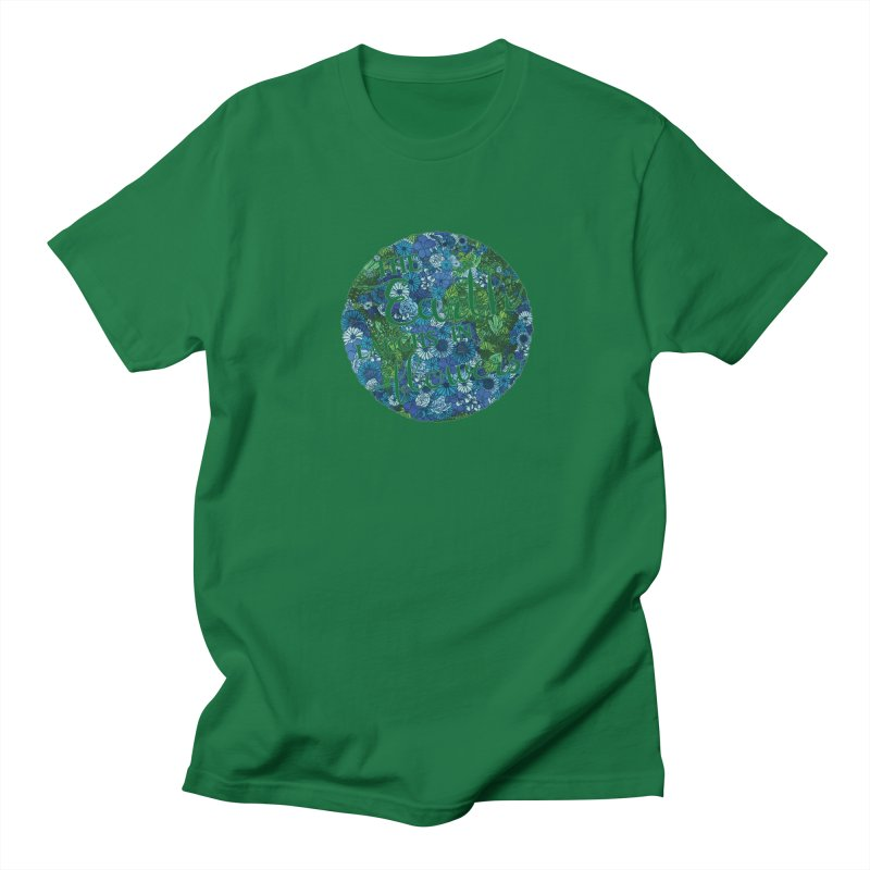The Earth Laughs in Flowers Men's Regular T-Shirt by Haciendo Designs's Artist Shop