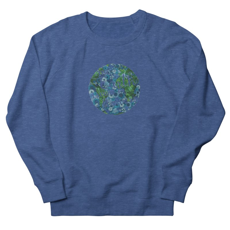 The Earth Laughs in Flowers Men's Sweatshirt by Haciendo Designs's Artist Shop