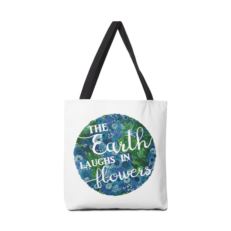 The Earth Laughs in Flowers Accessories Bag by Haciendo Designs's Artist Shop
