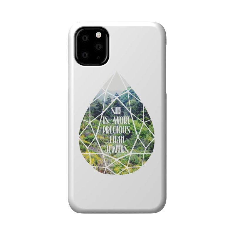 She is More Precious Than Jewels Accessories Phone Case by Haciendo Designs's Artist Shop
