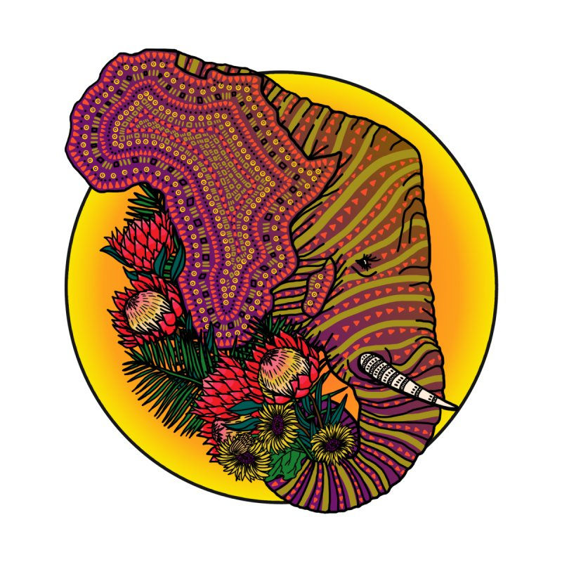 Loxodonta Africana None  by Haciendo Designs's Artist Shop