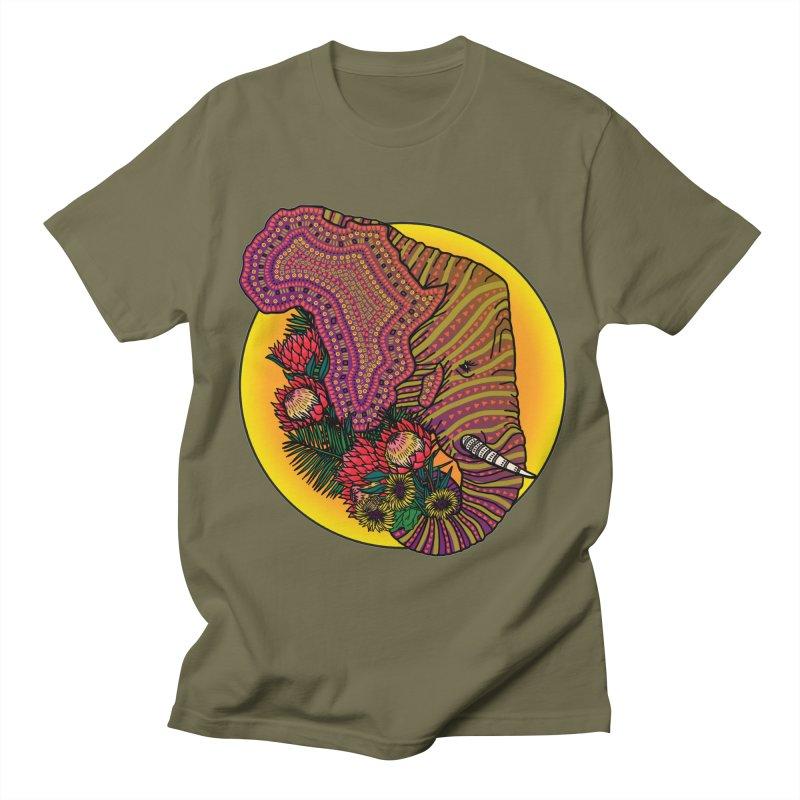 Loxodonta Africana Men's Regular T-Shirt by Haciendo Designs's Artist Shop
