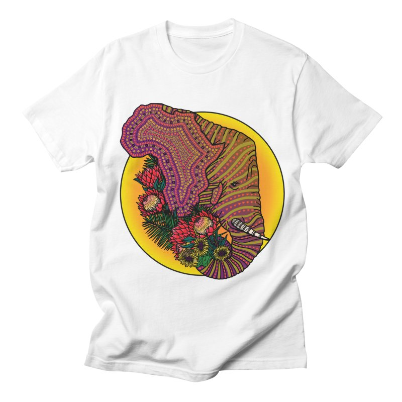 Loxodonta Africana Men's Regular T-Shirt by Haciendo Designs's Artist Shop