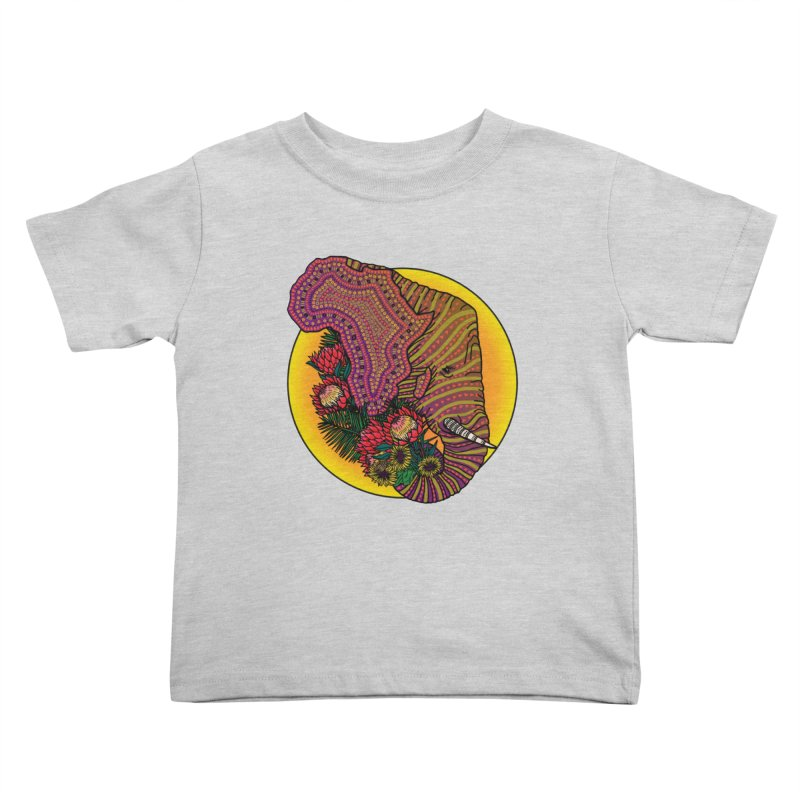 Loxodonta Africana Kids Toddler T-Shirt by Haciendo Designs's Artist Shop
