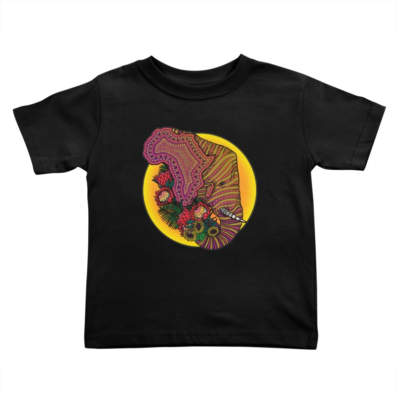 Loxodonta Africana Kids Toddler T-Shirt by Haciendo Designs's Artist Shop