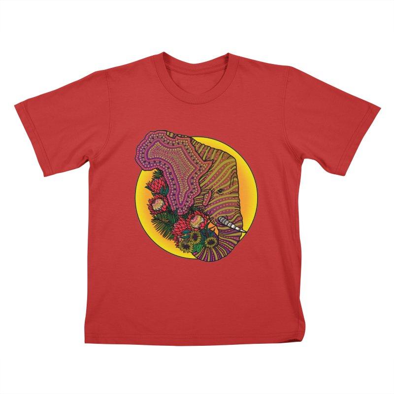 Loxodonta Africana Kids T-shirt by Haciendo Designs's Artist Shop