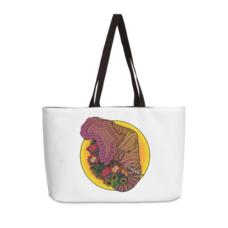 Loxodonta Africana Accessories Weekender Bag Bag by Haciendo Designs's Artist Shop